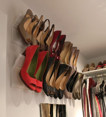Crown Molding for Shoe Rack