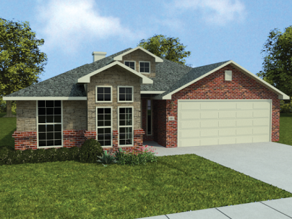 Betenbough Homes Kira Floor Plan Front View