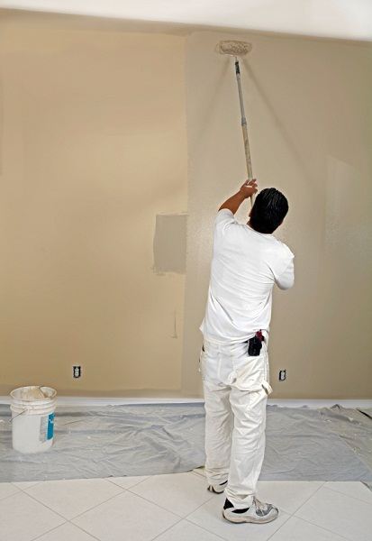 Use low VOC paint for a healthier house - Betenbough Homes