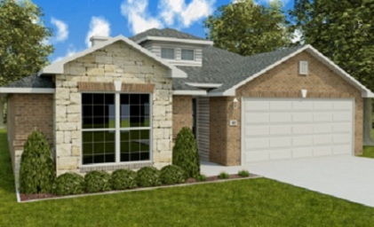 Betenbough Homes Rachel Marie Floor Plan Front View