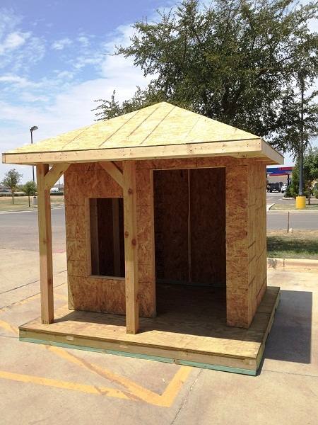 Diy playhouse cubby house plans download wooden ladder for Playhouse with garage plans