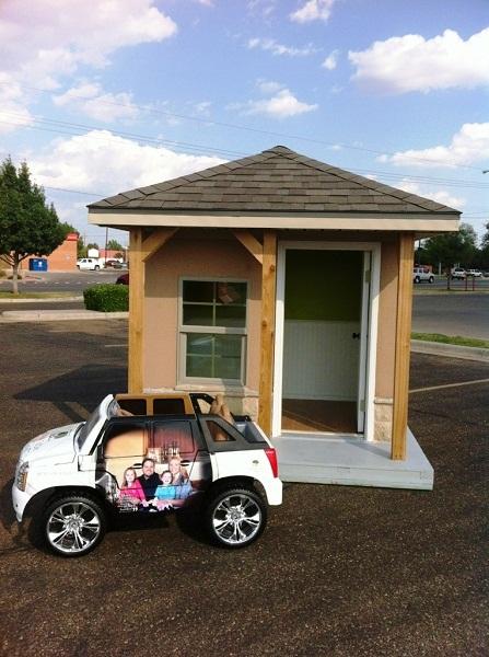 2012 Casas for CASA Playhouse Raffle - Betenbough Homes 4