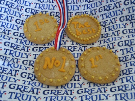 Olympic Cookie Medals