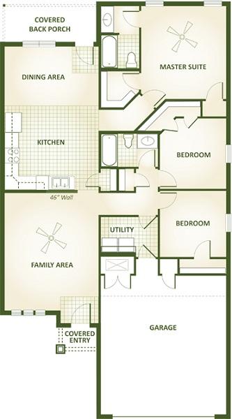 Shelly Floor Plan Interior Betenbough Homes