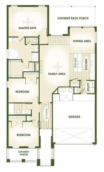 Betenbough Homes Brandi Floor Plan