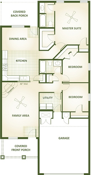 Tonya Floor Plan Betenbough Homes
