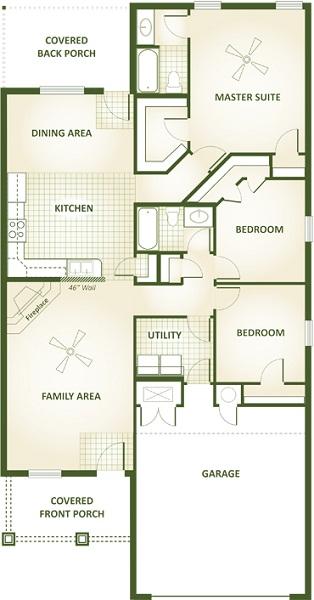 Tonya Floor Plan Betenbough Homes