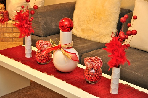Christmas decoration candy