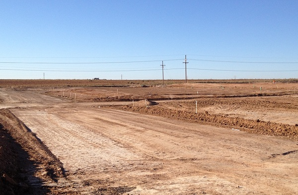 Odessa Texas Street Development North Park