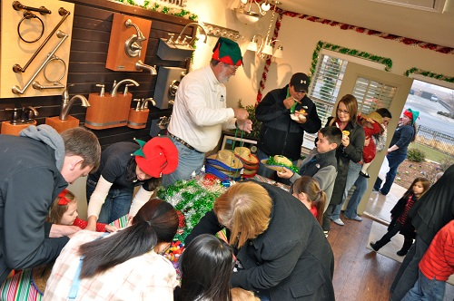 Betenbough Homes Open House Christmas Crafts