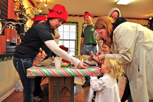 Betenbough Homes Open House Christmas Crafts Cowboy