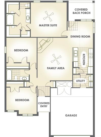 December edition most popular floor plan house made home for Most popular flooring in new homes