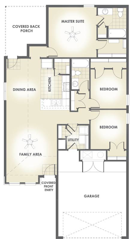 New Lady 1403 floor plan
