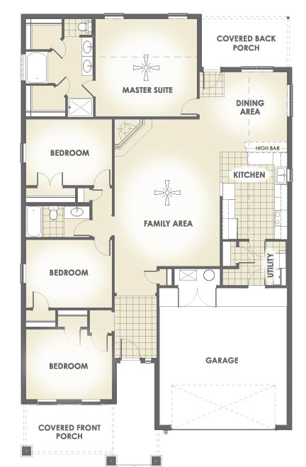 January edition most popular floor plan house made home for Most popular flooring in new homes