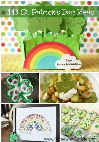 10 st pattys ideas