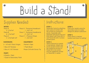 build a stand