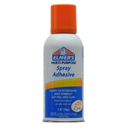 elmers spray adhesive