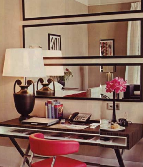 Wall Decor To Make Room Look Bigger : More mirrors space house made home