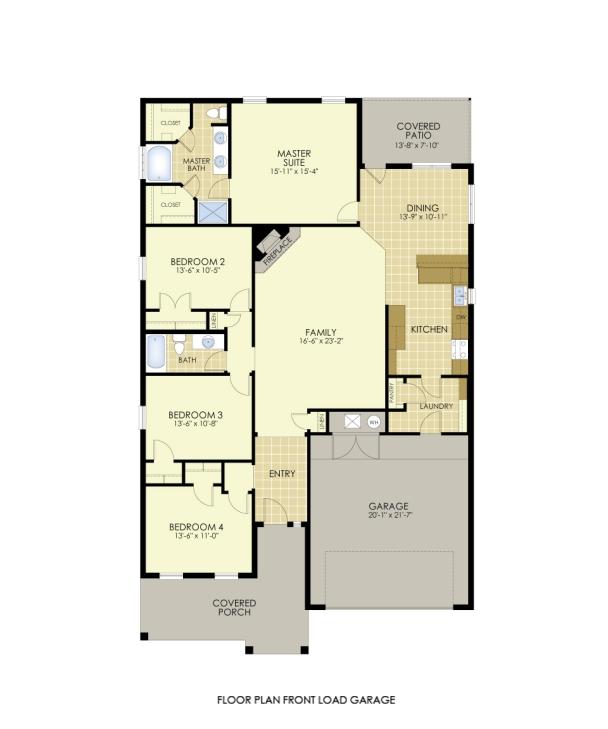Betenbough Homes Elena Floor Plan