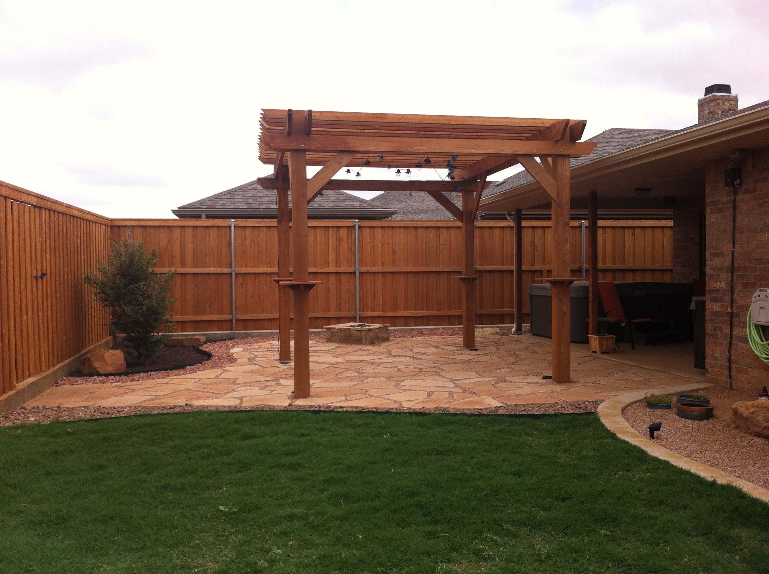 Employee Homes Part 3: Patio Ideas - House Made Home on Backyard Patio Extension id=76866