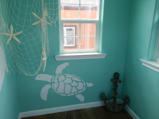 playhouse interior - turtle