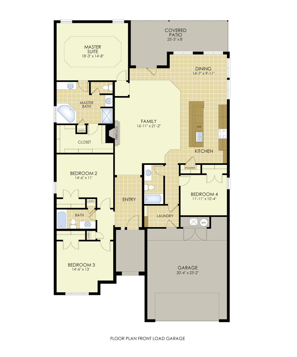 August s most popular floor plan house made home for Most popular house plans