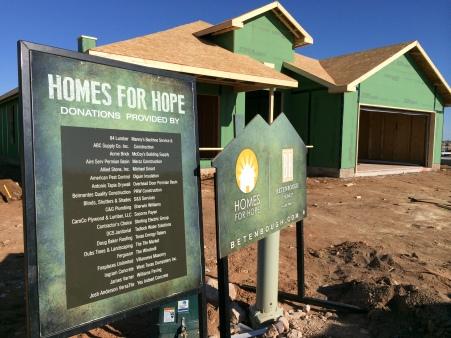 Home for Hope - Midland frame