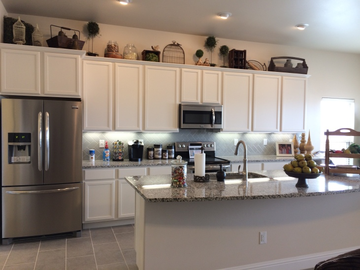 Upgraded Stainless Steel Package for 1400 - 2300 sq. ft. homes shown in our Lone Star Trails model home.