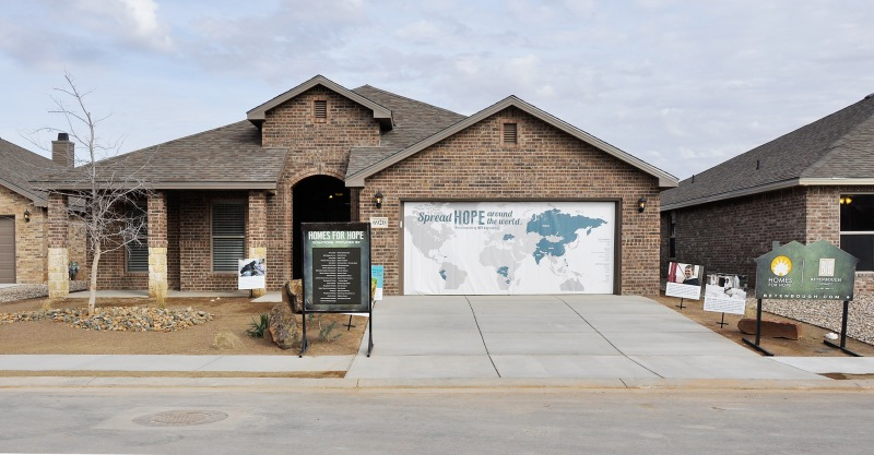 The home, a Sydney floor plan, is in our Lone Star Trails community in Midland.