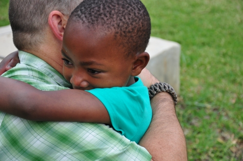 Kerry Africa_hug