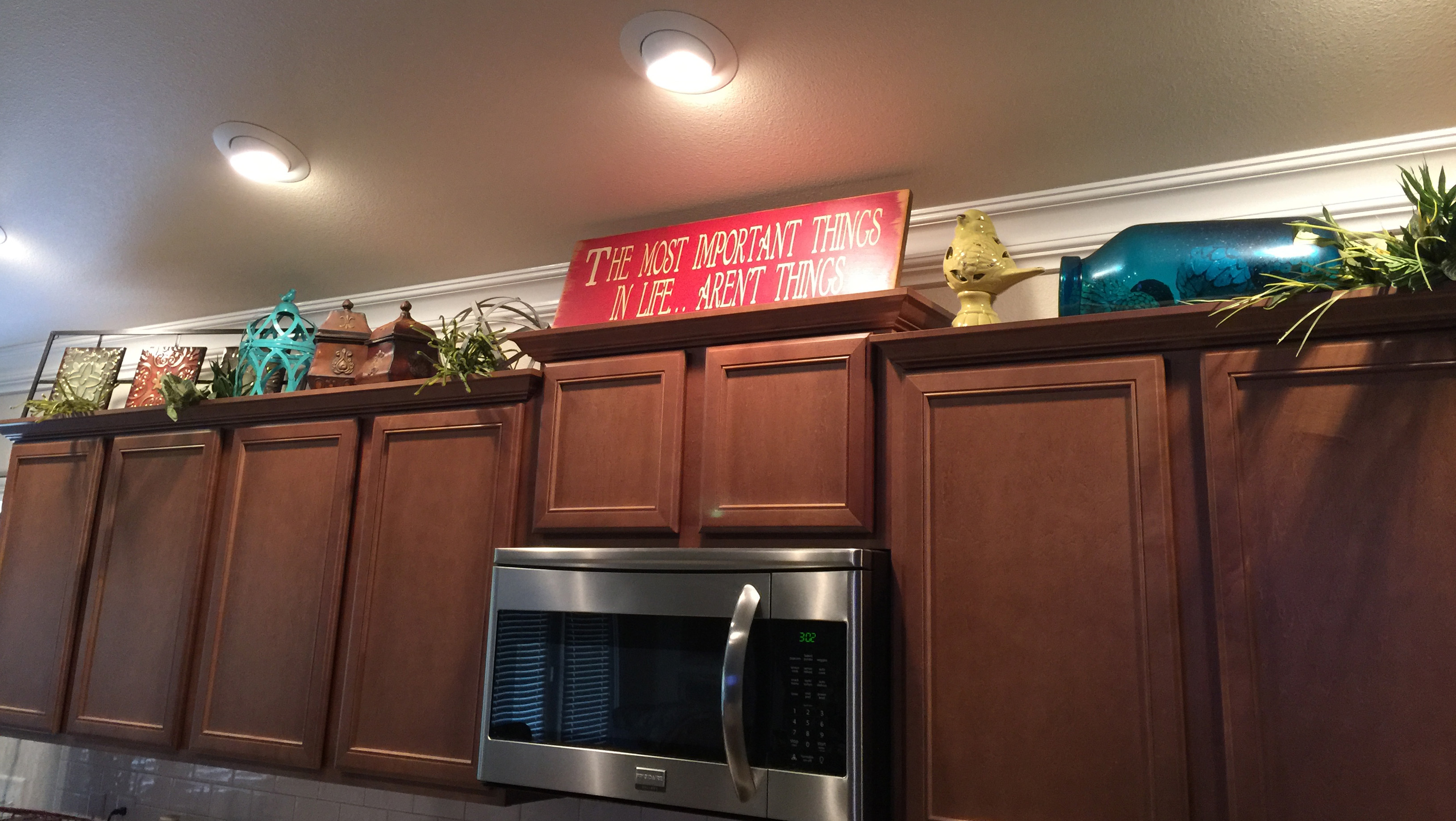 Looking To Add Character And Charm To Your Home With Decor Above Your Kitchen  Cabinets? Betenbough Homesu0027 Interior Designer, Brenna Moya Shares Helpful  Tips ...