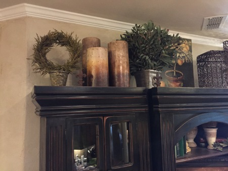 Above Cabinet Décor – House Made Home