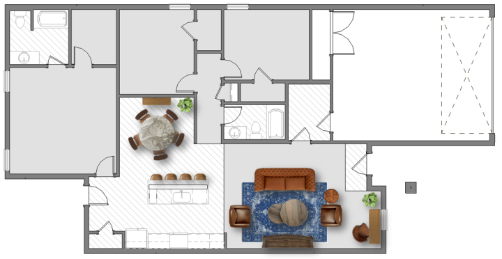 living room furniture layout 1 500 sq ft plans house made home